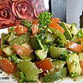 Salades de tomate