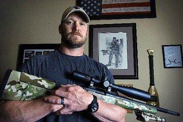 American sniper, the real Chris Kyle