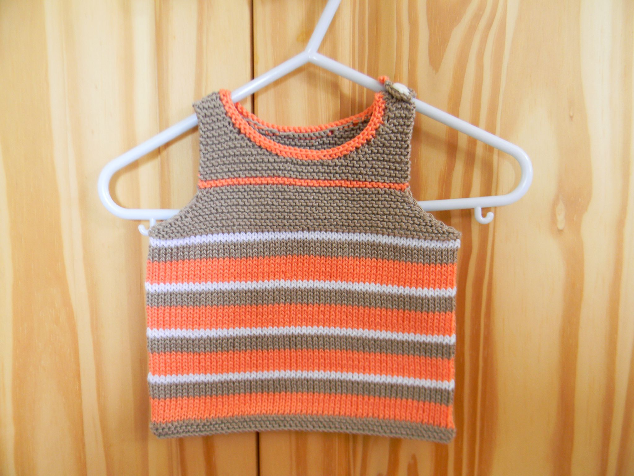 modele tricot gratuit debardeur bebe
