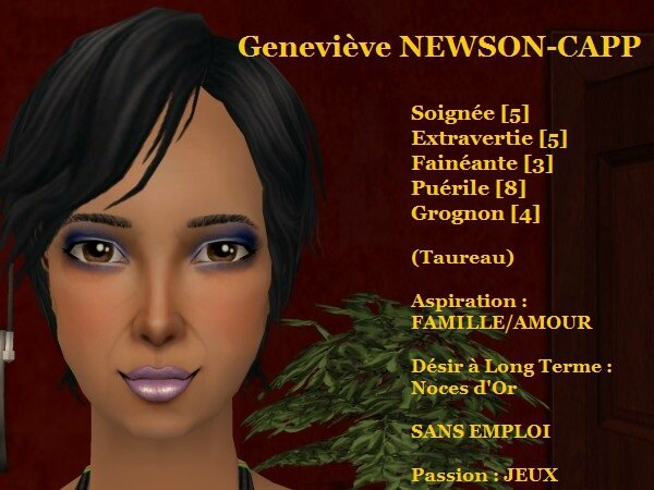 Geneviève NEWSON-CAPP