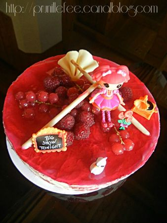 lalaloopsy cake