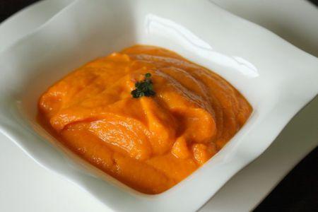 mousseline de carottes maggi
