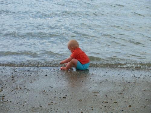 Louka à la mer
