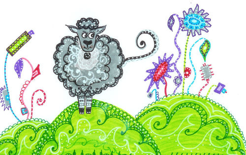 n°103 - Le mouton de Nelly