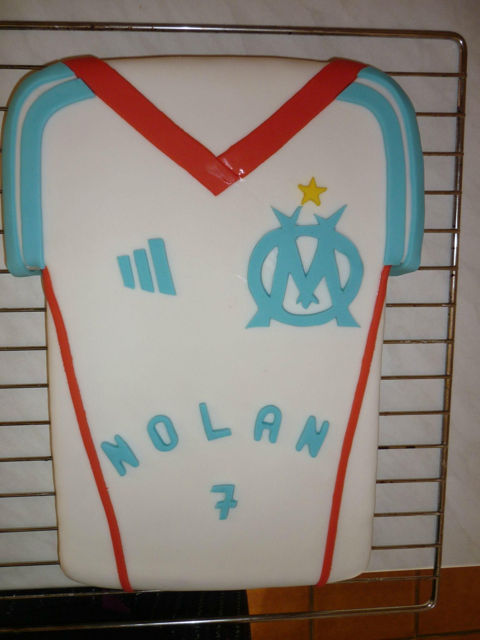 Maillot De Football De L Olympique De Marseille G Teaux Fantaisie