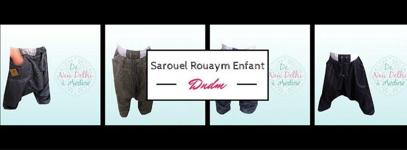 Sarouel Enfant