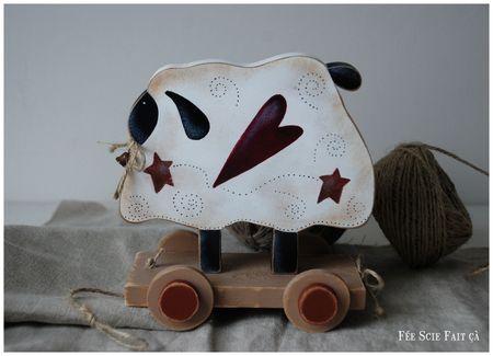 mouton sur roulette 1