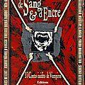 De sang et d'encre, recueil de 17 nouvelles vampiriques
