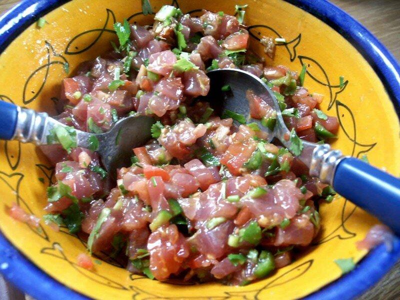 L 39 t arrive vas y avoir du thon dans vos assiettes les essais culinaires de calou - Comment cuisiner le thon rouge frais ...