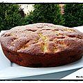 Gâteau au yaourt aux pommes caramélisées