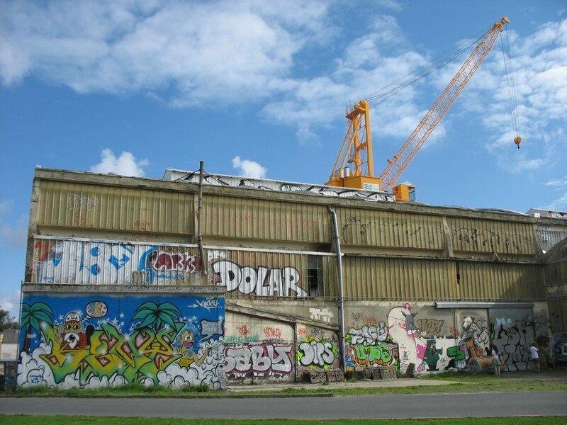Brest, hangar, tags et grue (29)