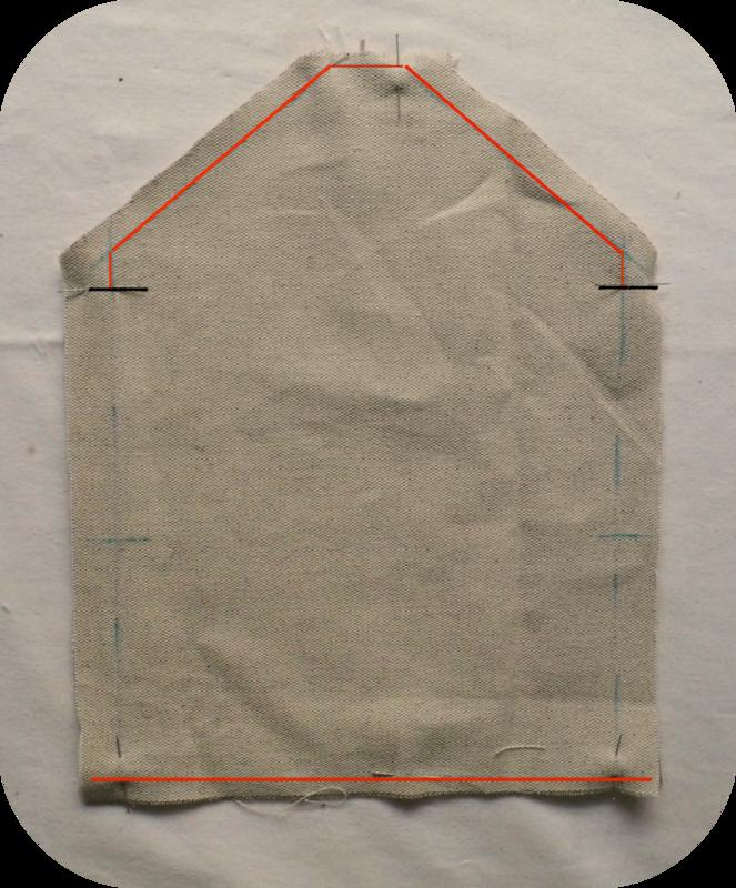 Tuto enveloppe tissu Couture rabat Déc 2014