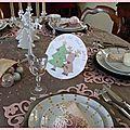 table rose poudrée 018