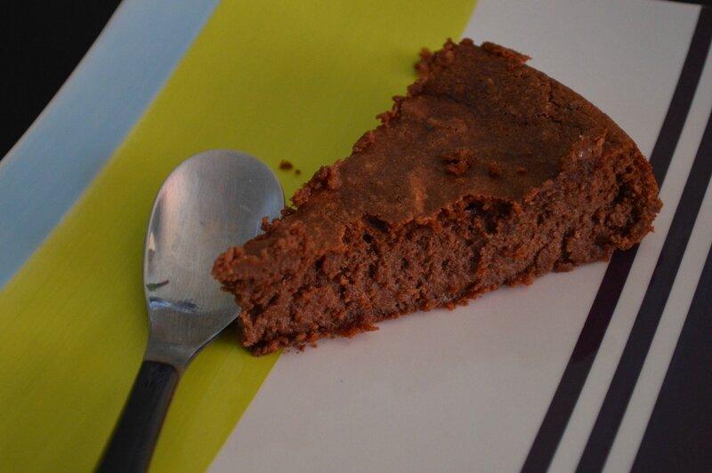Gâteau au chocolat, amandes et ricotta