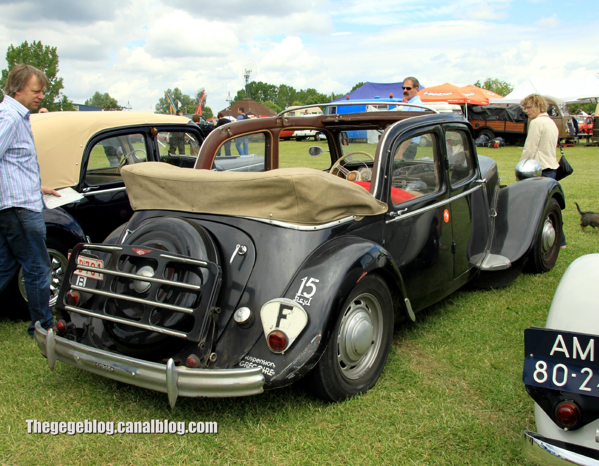 citroen traction 15 6 d couvrable retro meus auto madine 2012 the g g blog. Black Bedroom Furniture Sets. Home Design Ideas