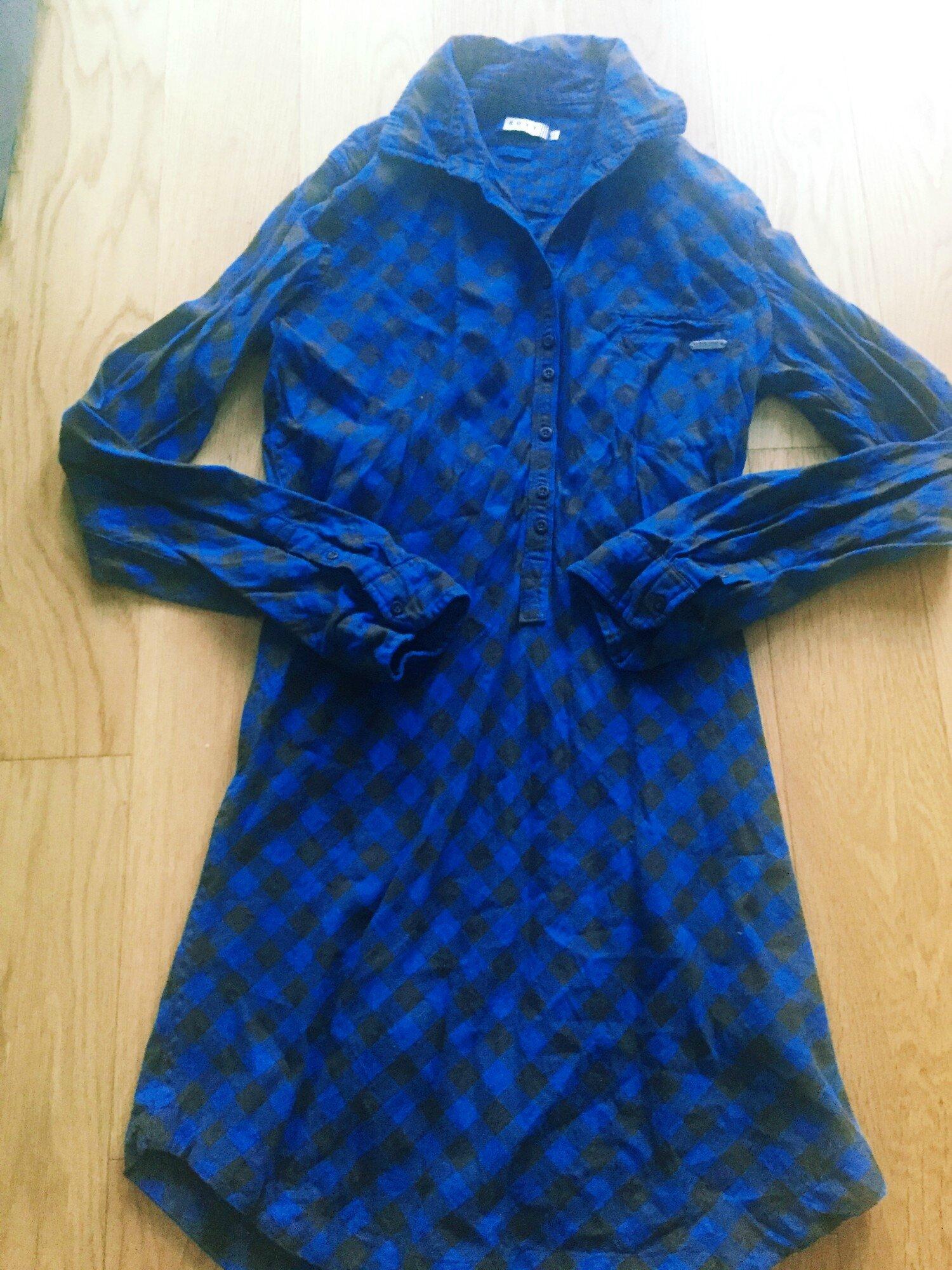 Robe ROXY à carreau