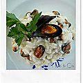 Breizh risotto aux moules de la baie