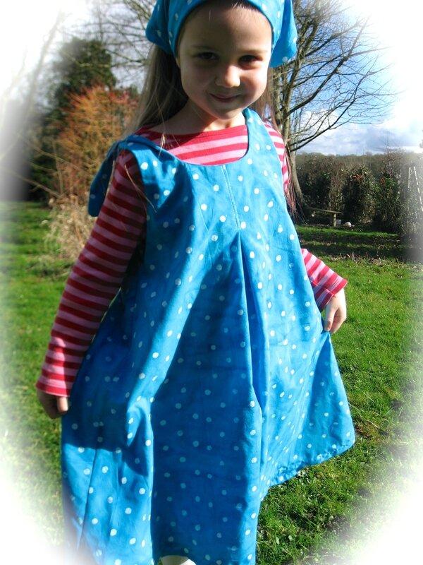 robe à nouettes de blueann création printemps 2014