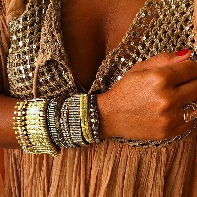 Des bracelets aux noms précieux, Saphir,Platine,Bronze,Or...HIPANEMA en vente chez PUNKA à Aix-en-Provence