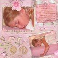 La sieste de Tina...dans le lit de maman