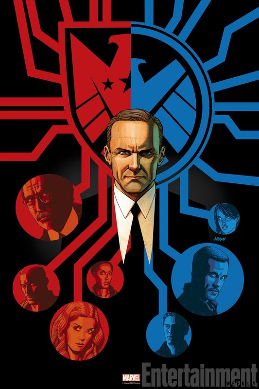 Agents of Shield (affiche) (7)