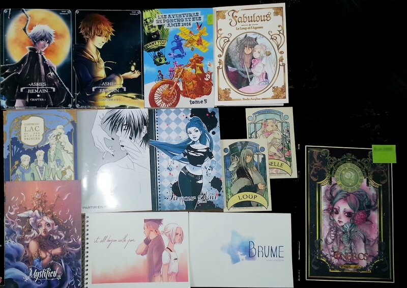 Fanzines Japan Expo 2014 stands amateurs bilan