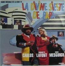 Disque 33 trs La Divine sieste de papa 1986 Bernadette Lafont