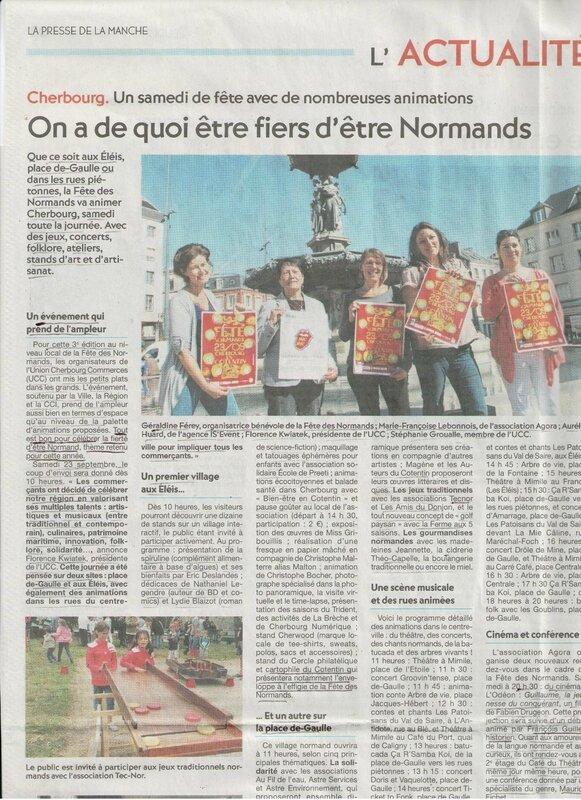 La Fête des Normands à Cherbourg en Cotentin La Presse de la Manche