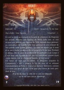 Guerrier Mystique 02 - rejet (sort)