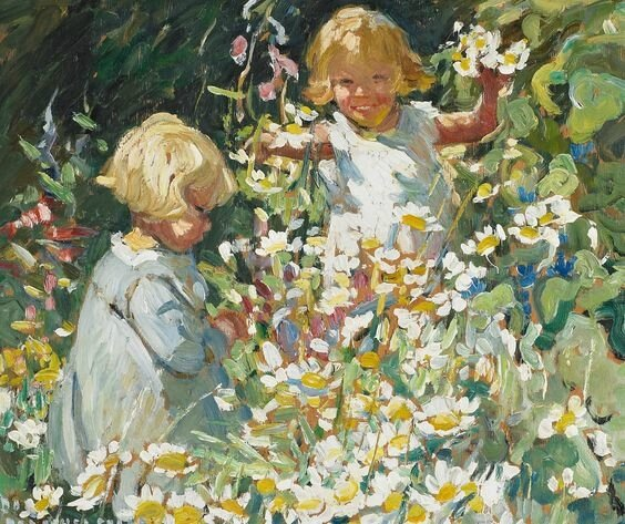 dorothea sharp -among the flowers