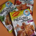 Papillote de poulet au paprika et  la tomate : la nouveaut chez Maggi