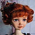 Alyona, poupée d'artiste (somnia dolls)