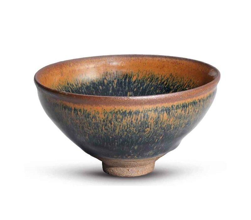 A Jian 'hare's-fur' tea bowl, Southern Song dynasty (960-1279)