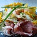 Salade de fleurs de courgettes de Mes recettes d'ici et d'ailleurs