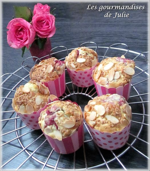 muffins cerises