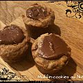 Muffins-cookies au nutella