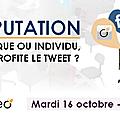 [réseaux sociaux] conférence e-réputation à la cantine mardi 16 octobre