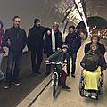 Une balade dans le nouveau tunnel sous la croix-rousse