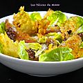 Salade césar très croustillante !!