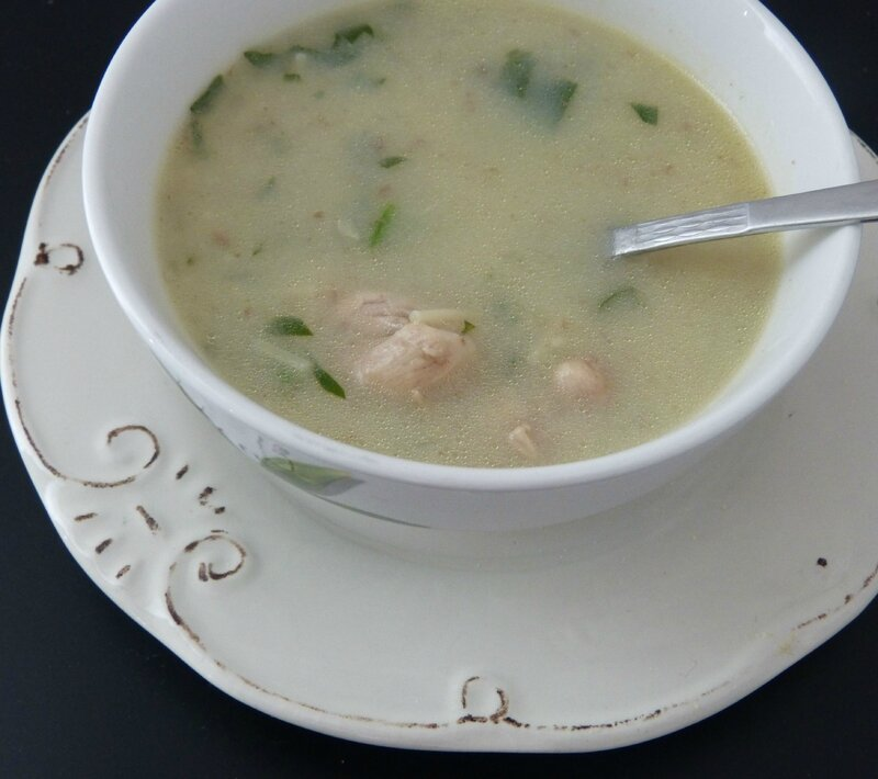 soupe blanche algérienne