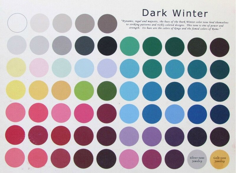 Colour Palet - Dark winter