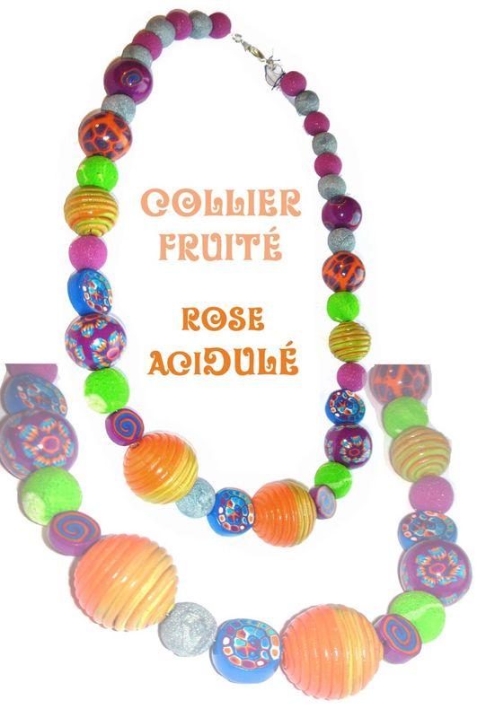 Collier Fruité