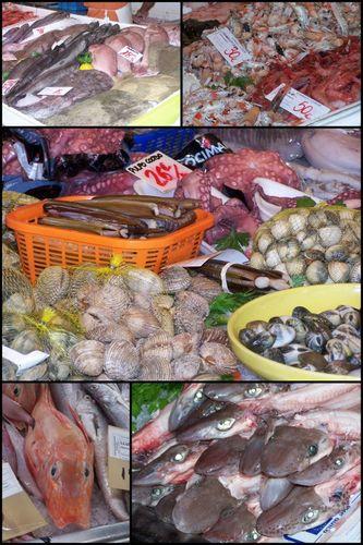 Marché des pêcheurs de Mahon