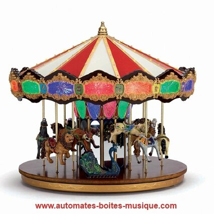 Carrousel musical miniature Mr Christmas