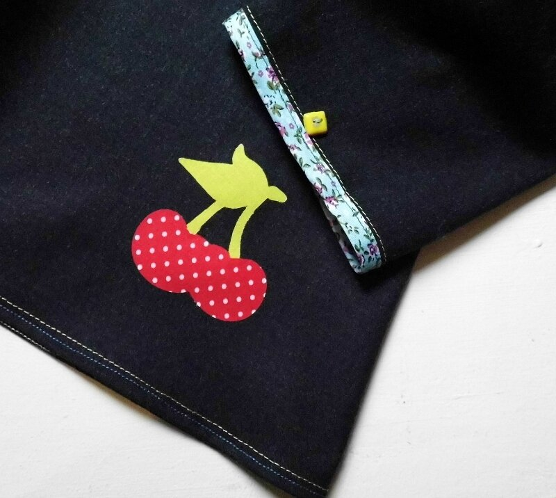 Appliqué cerise thermocollant 2018