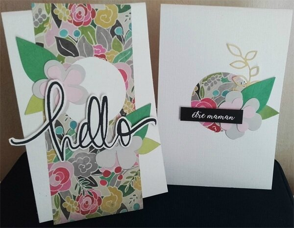 cartes hello être maman