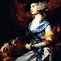 ROCOCO_1785_ Portrait de Mrs Sarah Sidons_Gainsborough