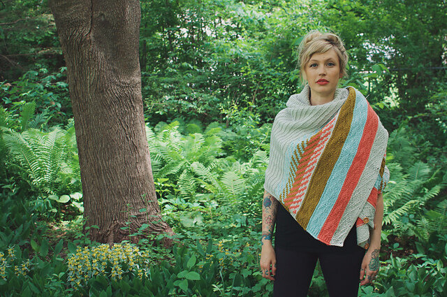 Om Shawl by Andrea Mowry photo2