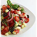 Salade grecque de fanny