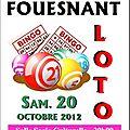 Loto du 20/10/2012